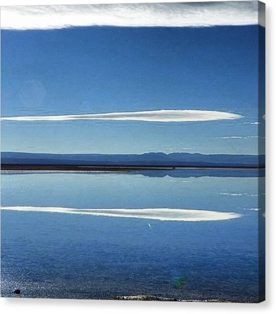 Atacama Desert Canvas Print - My Journey In The Paradise by Sandra Lira