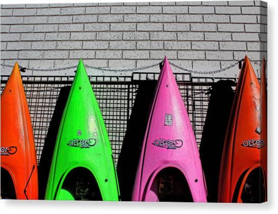 My Kayak Canvas Print