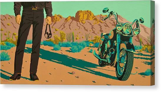 My Kind Of Cowboy Canvas Print