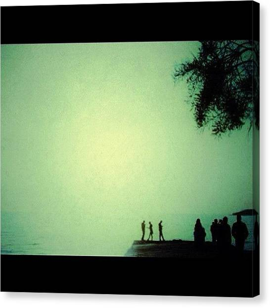 Athens Canvas Print - My Minimalistic Summer... Hello Igers! by Dimitris Grigorakis