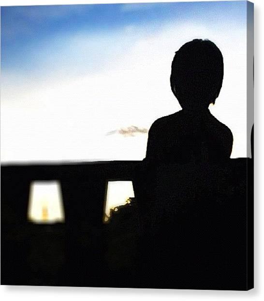 Princess Canvas Print - My Princess' Beautiful Silhouette by Ica Mercado 💋