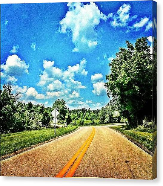 Kentucky Canvas Print - My Ride Home.. #instafamous #instagood by Brandon Hesson