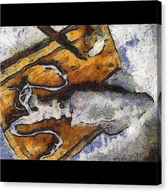 Squids Canvas Print - My Squido A La Plancha - Ghog'd by Pommes Vapeur