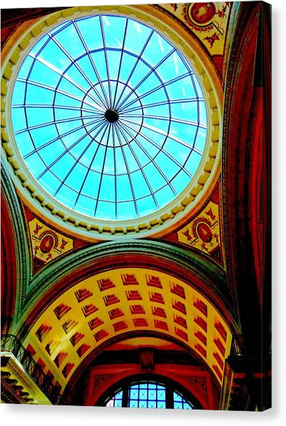 The Forum Canvas Print - My Vegas Caesars 12 by Randall Weidner