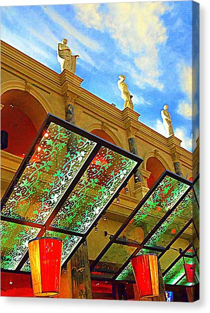The Forum Canvas Print - My Vegas Caesars 19 by Randall Weidner