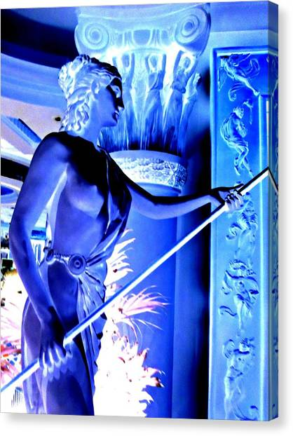 The Forum Canvas Print - My Vegas Caesars 25 by Randall Weidner