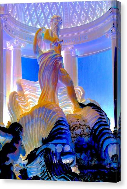 The Forum Canvas Print - My Vegas Caesars 5 by Randall Weidner