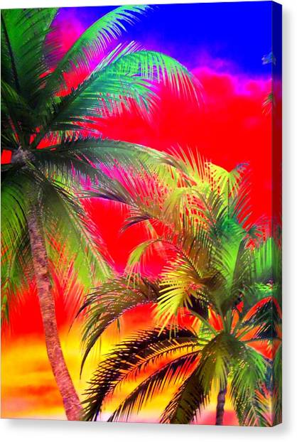 My Vegas Margaritaville 1 Canvas Print