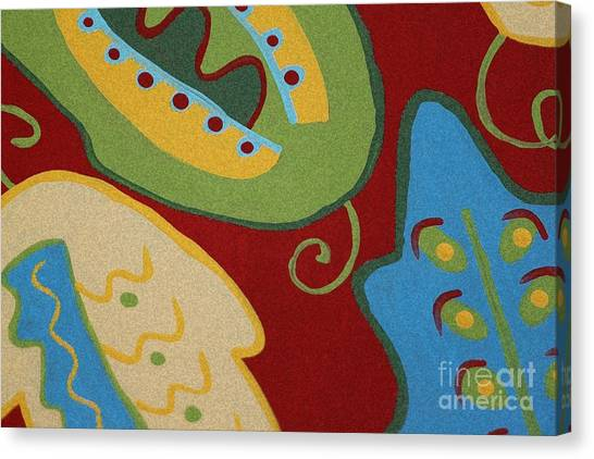 My Wild Leaves Canvas Print by Marilyn West