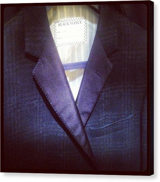Tuxedo Canvas Print - My #winter 2012 #tux Is Off To #nyc For by Todd Davis