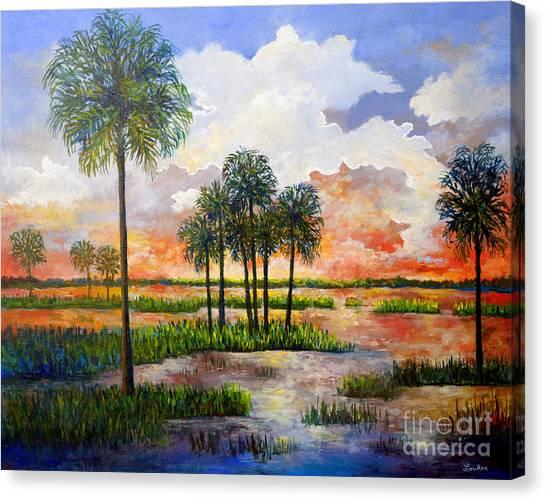 Myakka Sunset Canvas Print