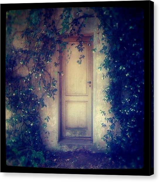 Argentinian Canvas Print - Mysterious Door #door #puerta #campo by Diego Jolodenco