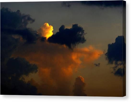 Mystical  Clouds Canvas Print