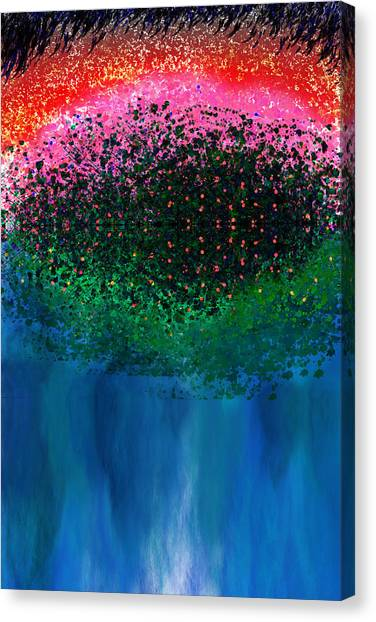 Etherial Canvas Print - Mystical Island by Christopher Gaston