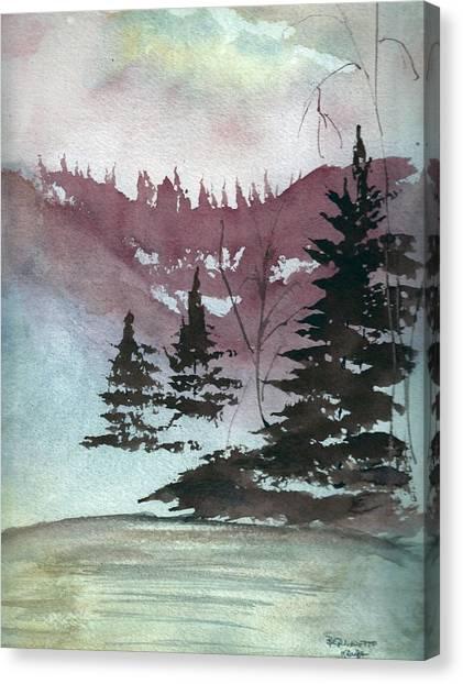 Mystical Pond Canvas Print