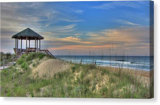 Nags Head Gazebo Canvas Print