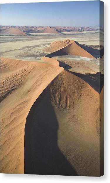 Namib Desert Canvas Print - Namib Desert by Unknown