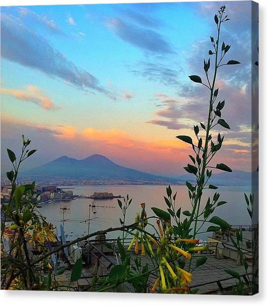 Canvas Print - Napoli ....stunning by Gianluca Sommella