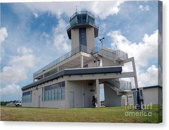 Air Traffic Control Canvas Print - Nasa Air Traffic Control Tower by Nasa