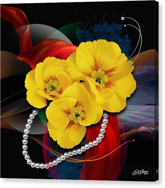 Natalys Flower Canvas Print by Satish Verma