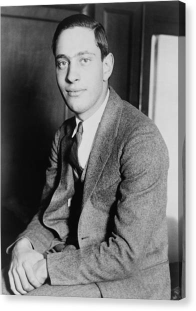 Nathan Leopold, Jr., 1904-1971 One Canvas Print by Everett