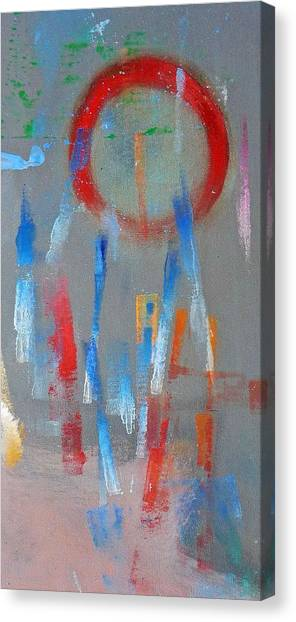 Canvas Print - Native American Abstract by Charles Stuart