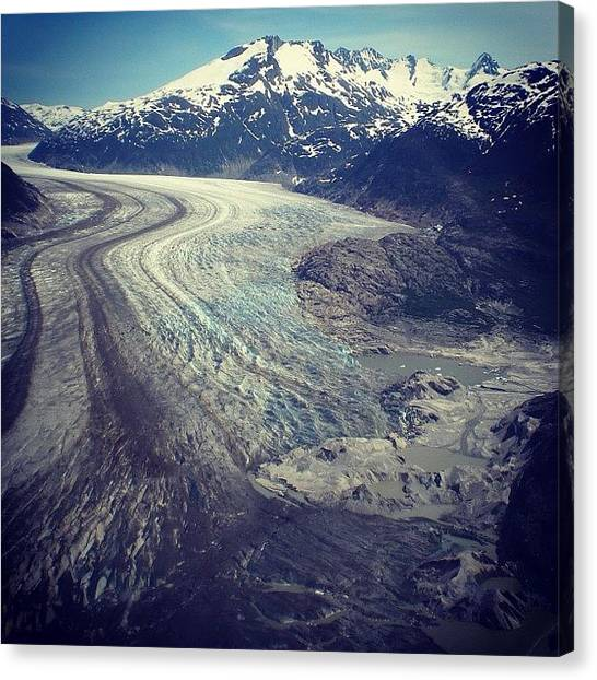 Glaciers Canvas Print - Natural Road by Jennifer Colwell
