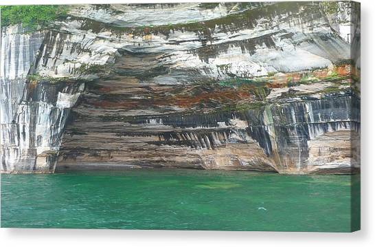 Nature's Painting Canvas Print by Michael Carrothers