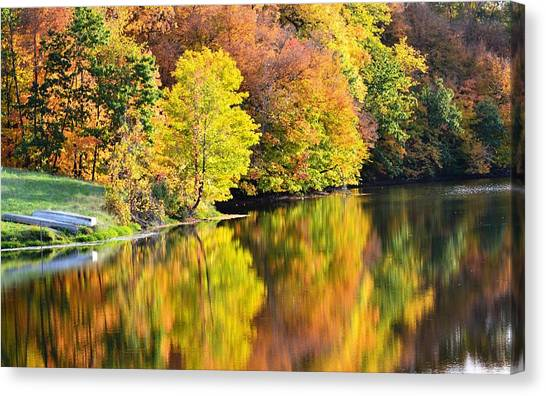 Nature's Watercolor Canvas Print