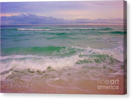 Navarre Sunset Canvas Print