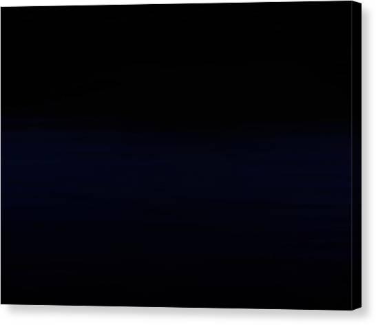 Navy Black Canvas Print