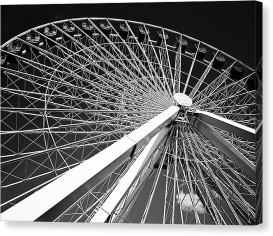 Navy Pier Ferris Wheel Canvas Print