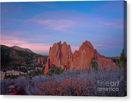 Near Sunset Canvas Print