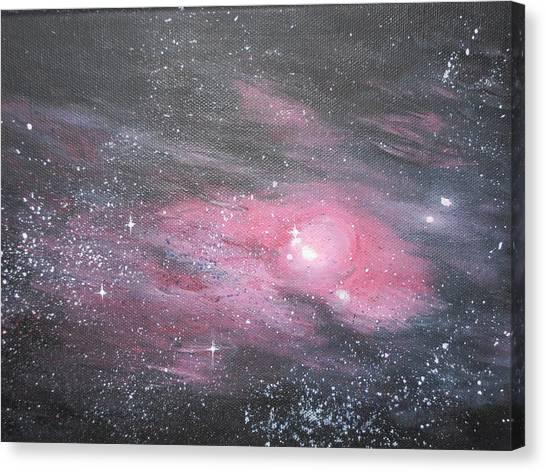 Nebula 1 Canvas Print by Siobhan Lawson