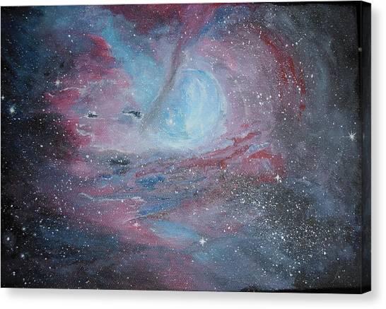 Nebula 2 Canvas Print by Siobhan Lawson