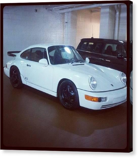 Porsche Canvas Print - Need #rs #america #rsamerica #964 #911 by Steve Kochurov