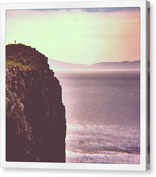 Geology Canvas Print - Neist Point, Isle Of Skye by Robert Campbell