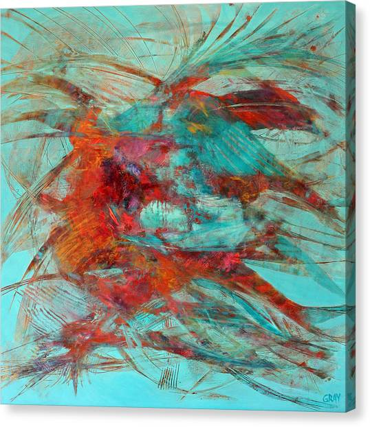 Neither Fish Nor Fowl Canvas Print by Gray Jacobik