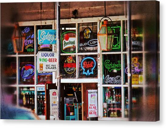 Neon Signs Canvas Print