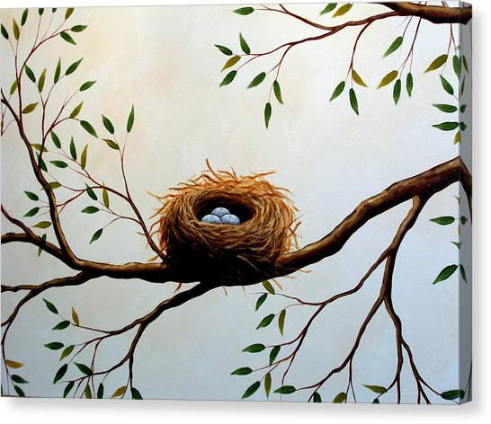 Nesting Canvas Print by Amy Giacomelli