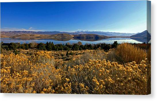 Nevada Lake At Dawn Canvas Print