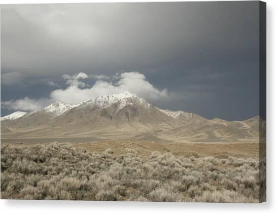 Nevada  Mountain Canvas Print
