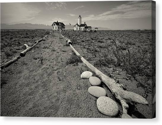New Dungeness Lighthouse Canvas Print