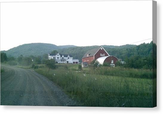 Coexist Canvas Print - New Hampshire Farm by Gloria Warren