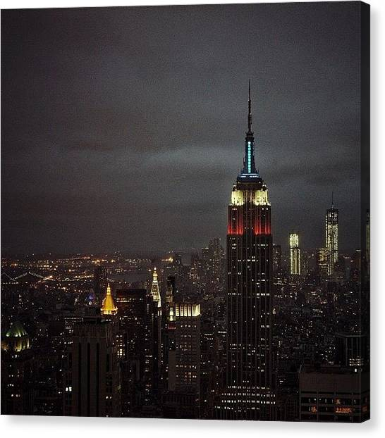 Skylines Canvas Print - New York - New York by Joel Lopez