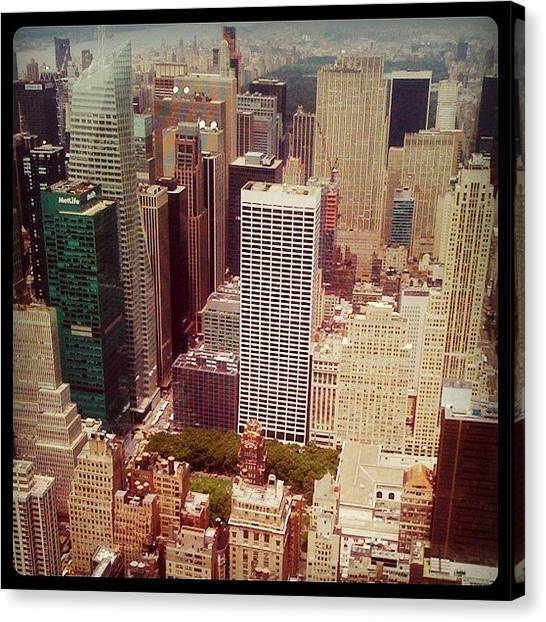 Farmers Canvas Print - New York City! by Katie Farmer