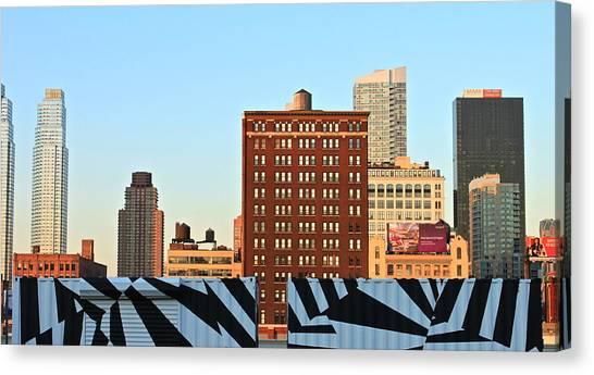 New-york Landmarks Canvas Print by Jordan Drapeau