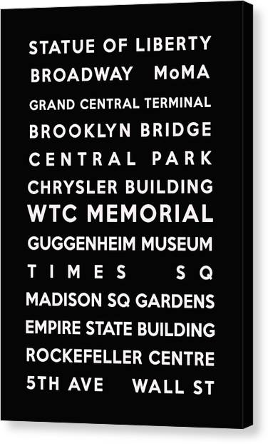 Nyc Subway Map Canvas Wall Art.New York City Subway Map Canvas Prints Fine Art America