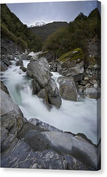 New Zealand Landscape Canvas Print