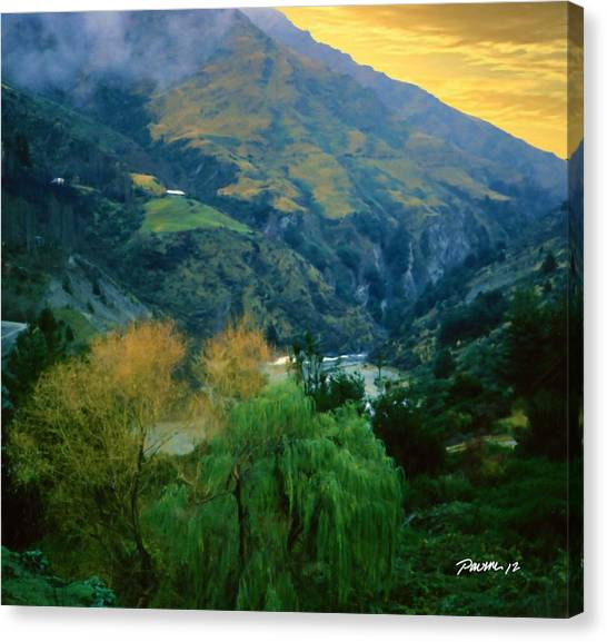 New Zealand Series - Arthur's Pass Canvas Print by Jim Pavelle